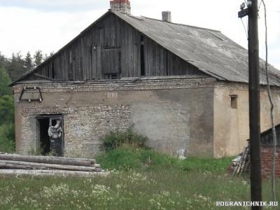 """Бывшая баня  бывшего совхоза """"Триумф"""""""