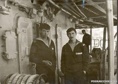 1989г Сентябрь БЧ-4 Передирий.Е  Алексеенко.С оба после отпу