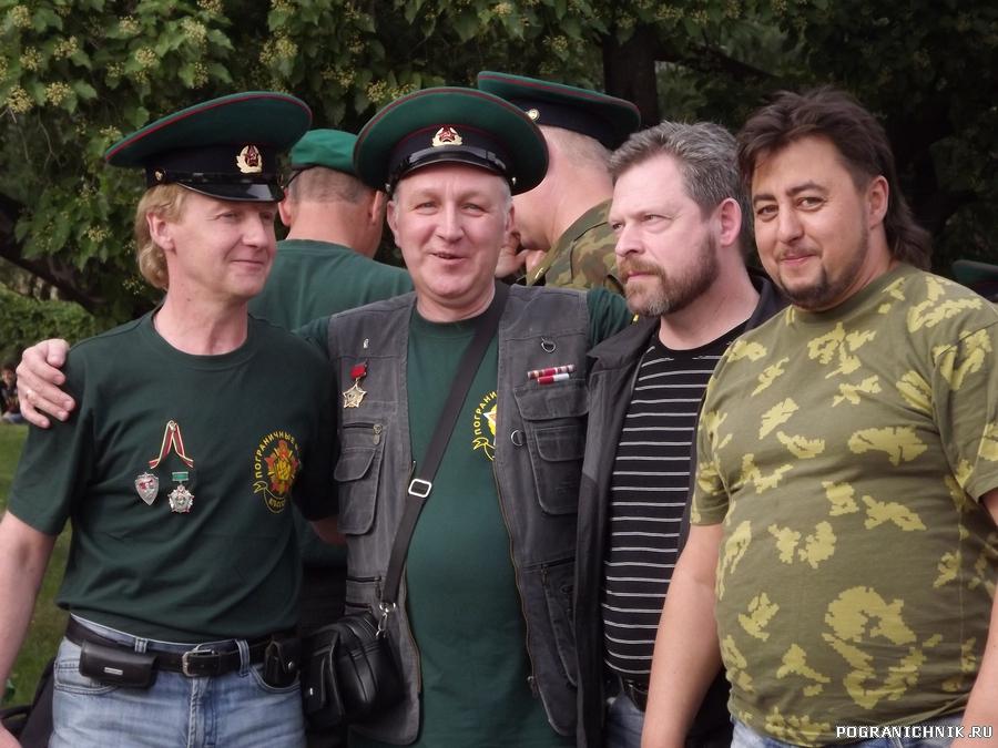 Багратовцы на БР-2012 в Москве.