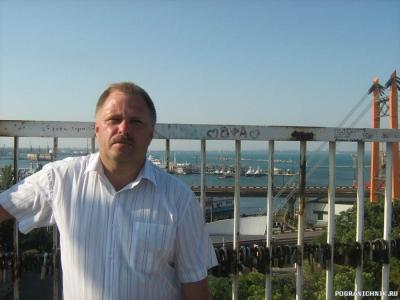 Одесса.Вид с тещиного моста.