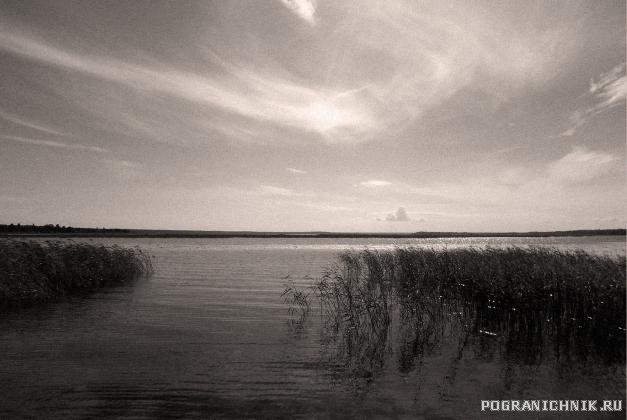 летний лагерь в\ч2416 на озере ПЮХЯЯРВИ...