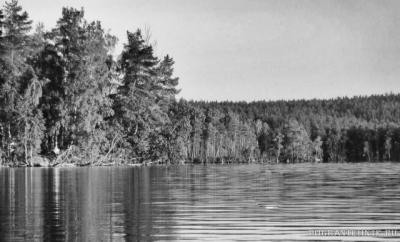 озеро ПЮХЯЯРВИ,летний лагерь инструкторов 2416