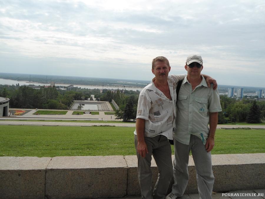 Орищенко С. и я спустя 30 лет, Волгоград, июль 2012