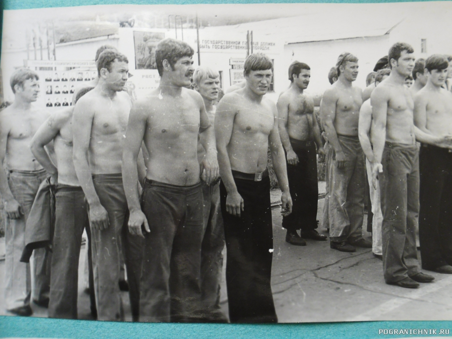 День  ВМФ Невельск 1979