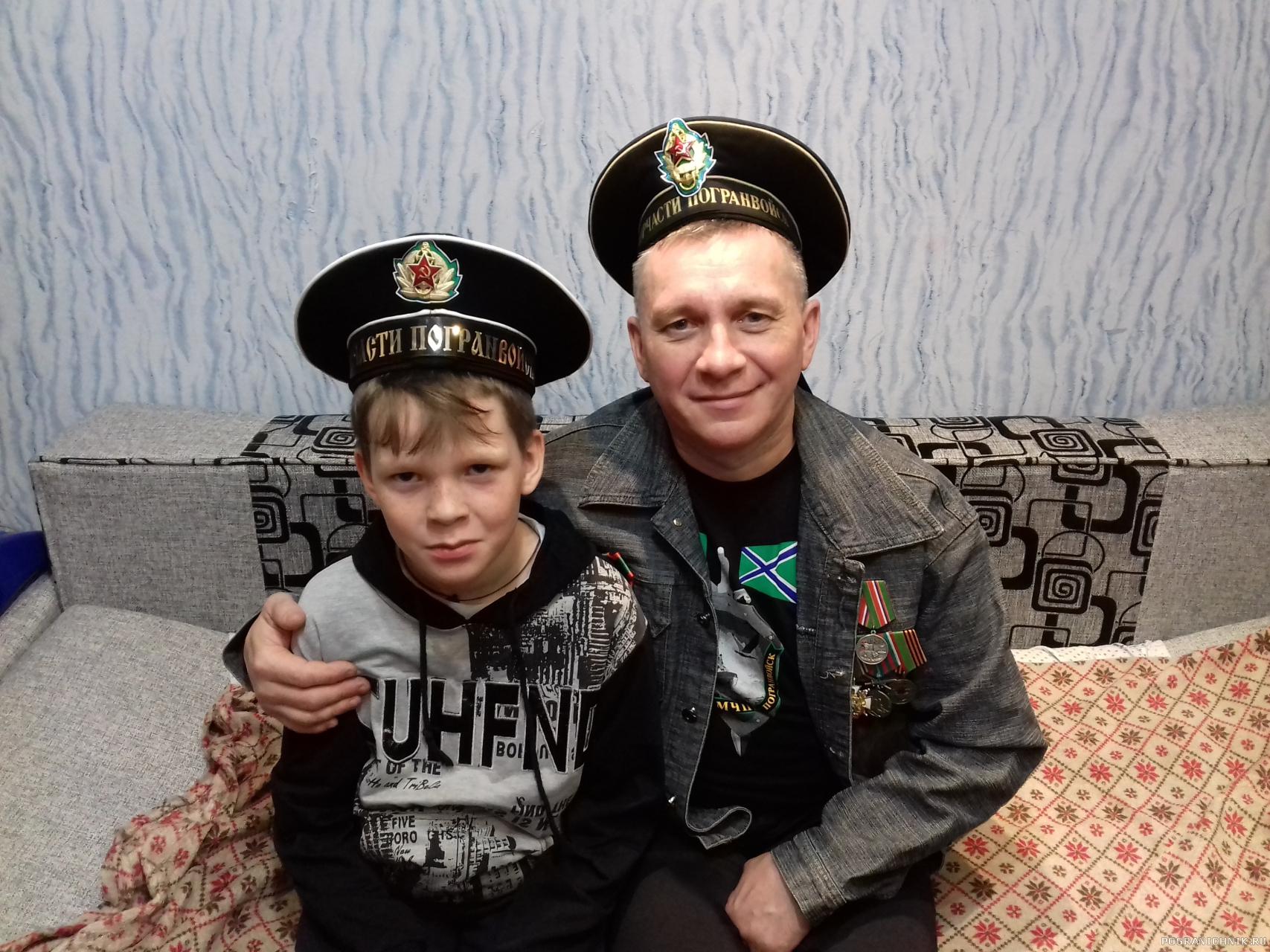 Я и сын Фёдор