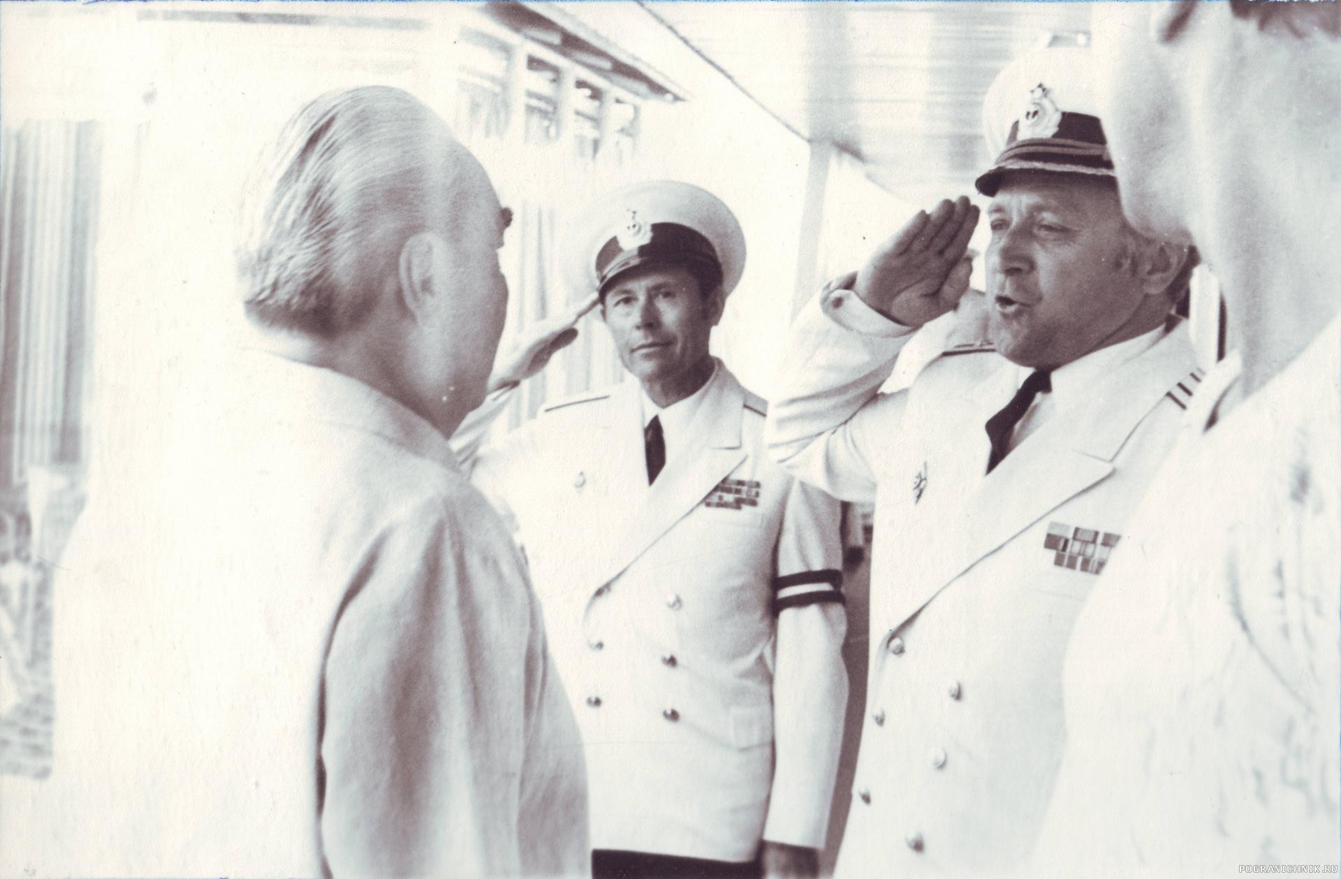Причал гос. дачи Л. И. Брежнева в Ливадии