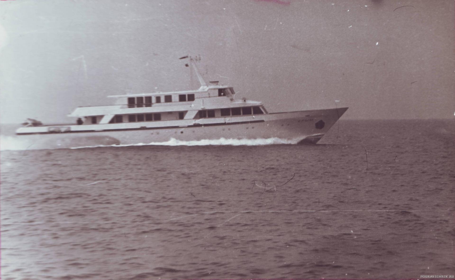 ПСКР «Крым», 1980 г.