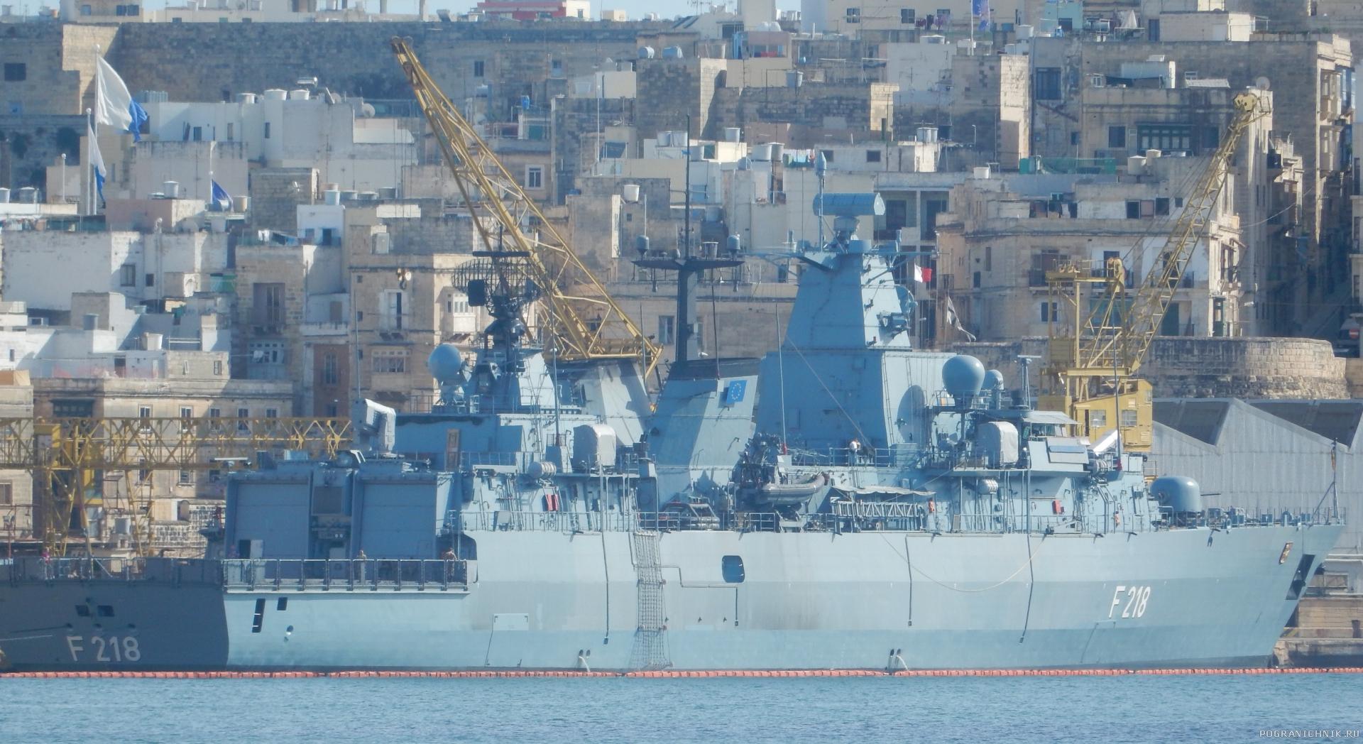 Фрегат ВМС ФРГ Mecklenburg Vorpommern типа Бранденбург
