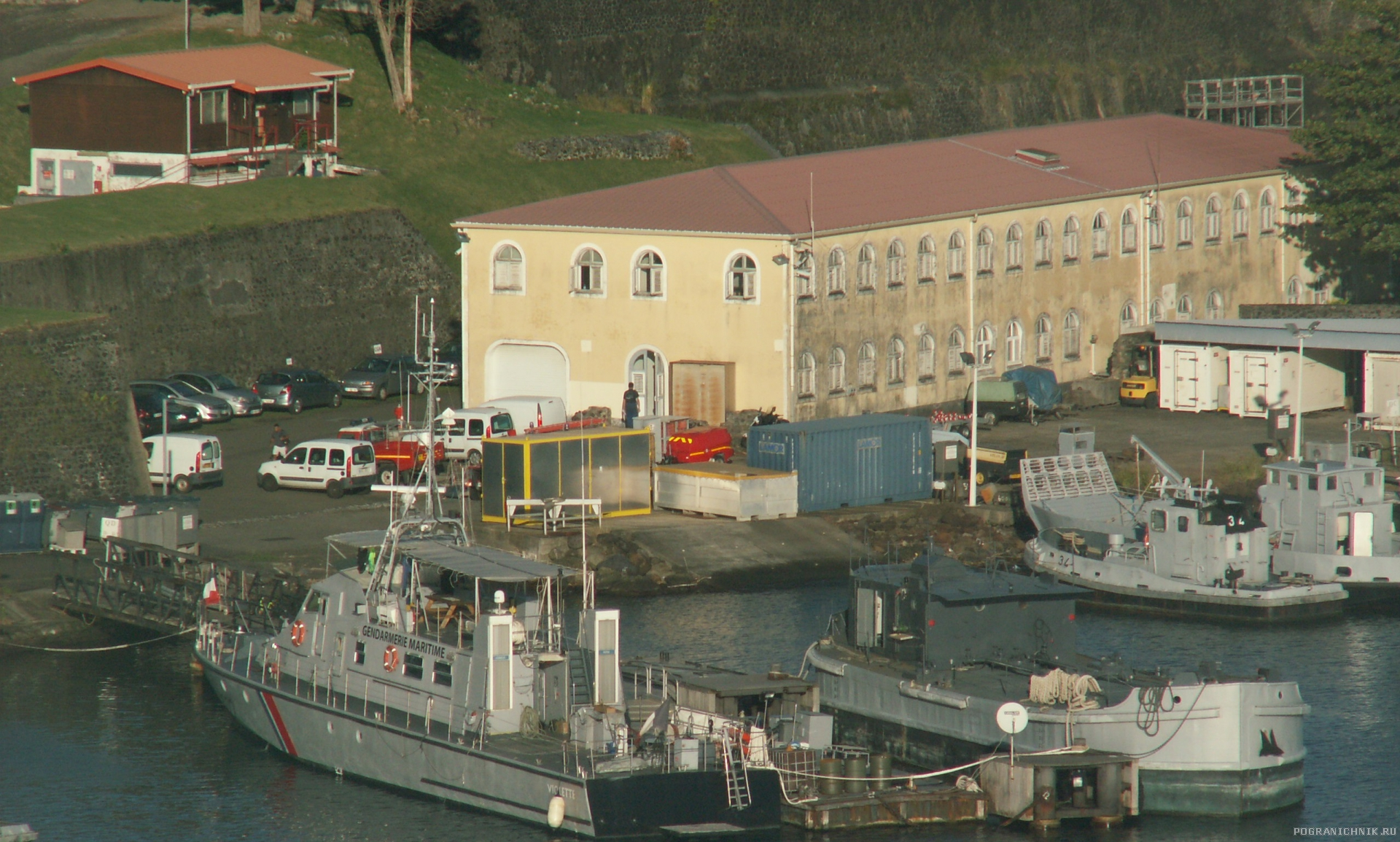 Катер морской жандармерии Франции Violette