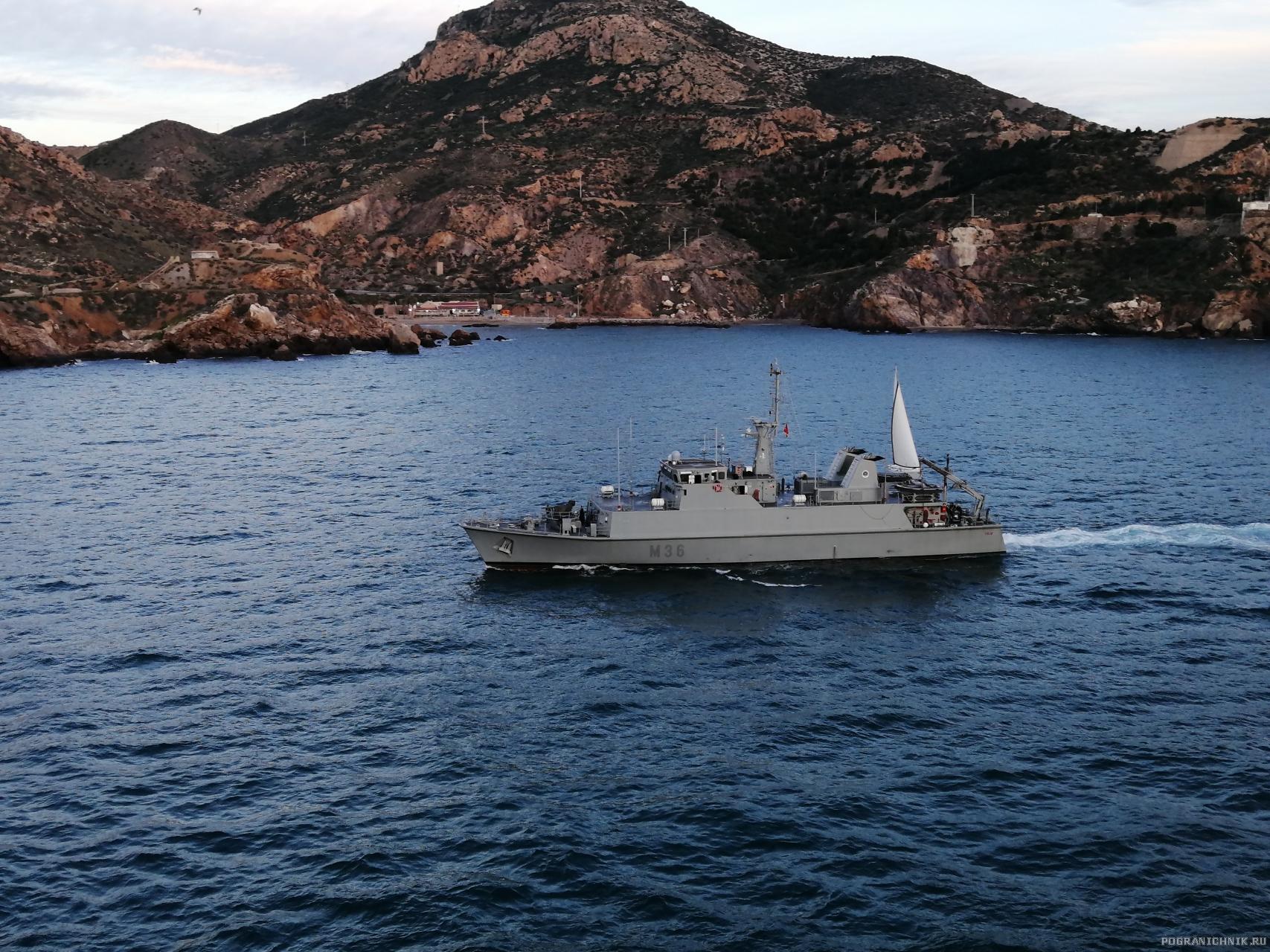 IMG 20191209 ТЩ ВМС Испании «Tajo» типа «Segura»
