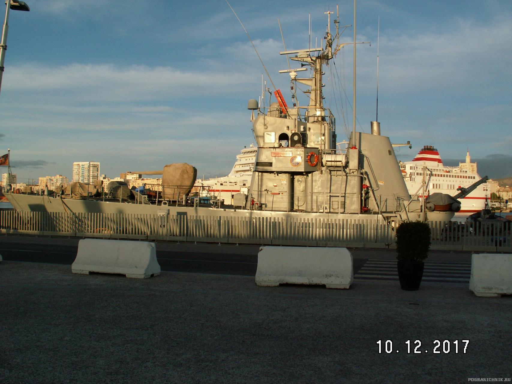 Корабль береговой охраны Испании «Tagomago» типа «Anaga»