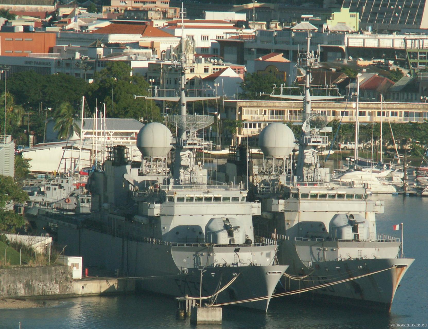 Фрегаты типа Флореаль Ventоse и Germinal ВМС Франции