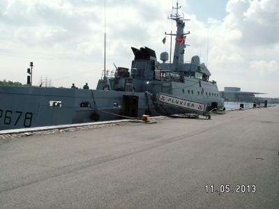 """Патрульный катер """"Pluvier"""" ВМС Франции"""