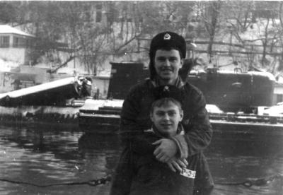 Володя Моторин и Слава Зиновьев (1985 - 1988 весна)