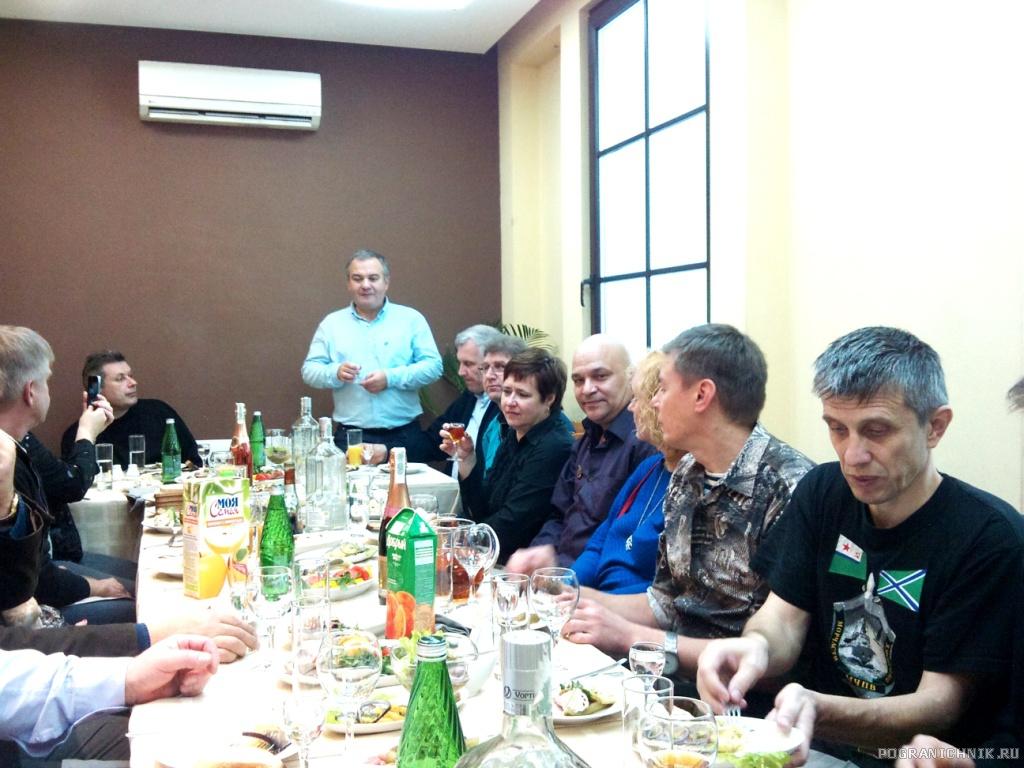"В ресторане ""Владимир"""