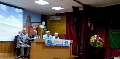 Заседание Клуба ветеранов Морской охраны