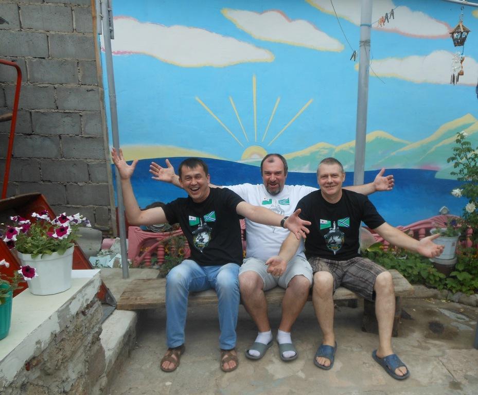 Ведь весело же... Игорь, я и Михаил Евсеев