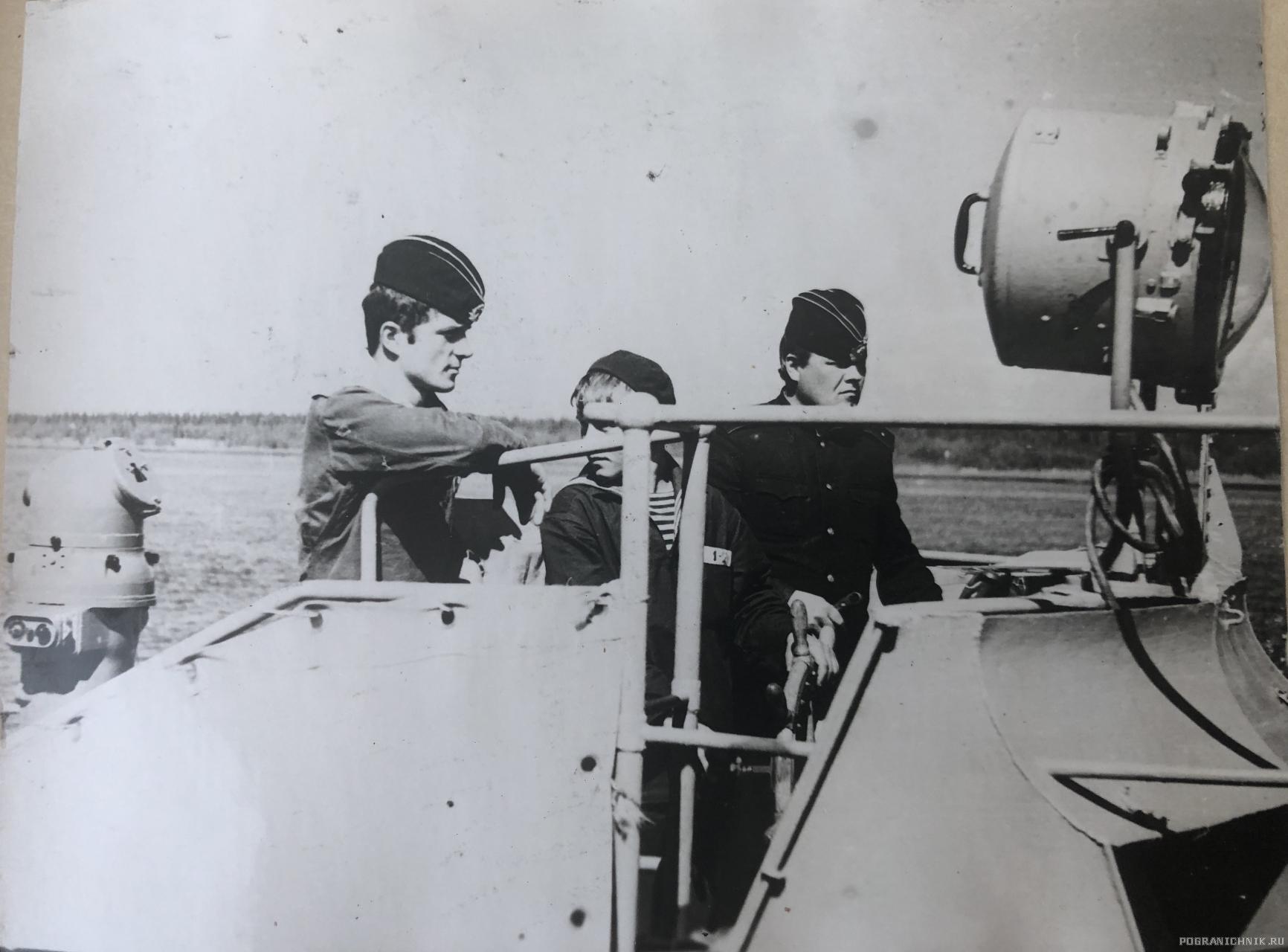 Командир Носонов, 1978г
