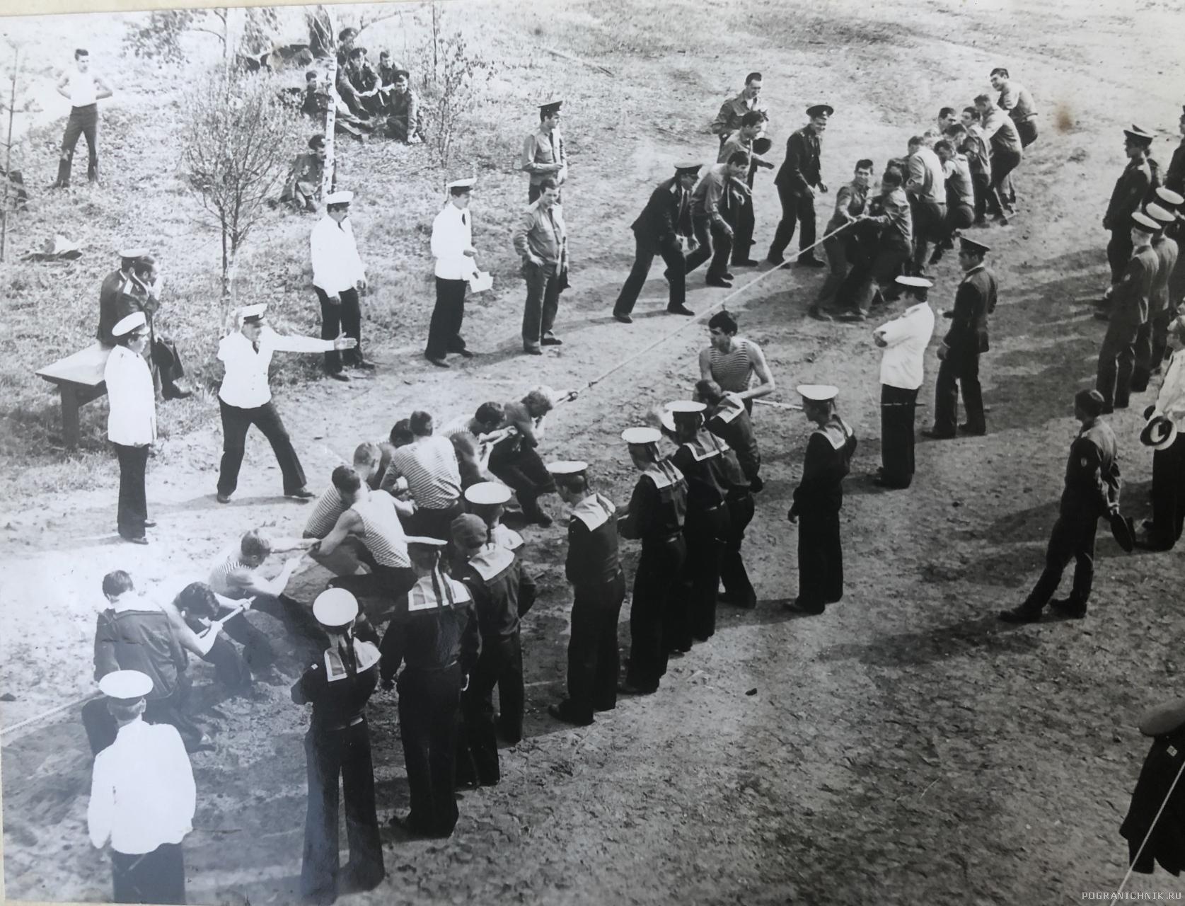 День пограничника, 1980г