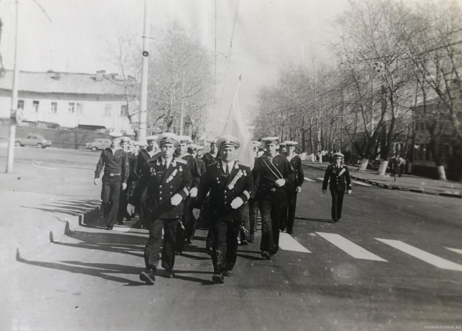 На парад, 1978г