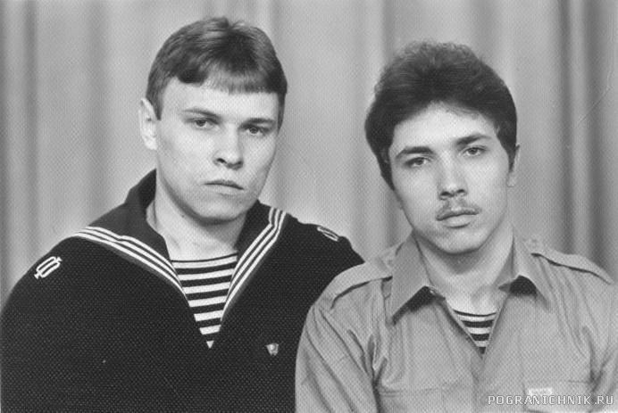 Лиепая 1986 с братом
