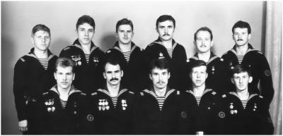 дембеля 2 и 3 роты 1985 г