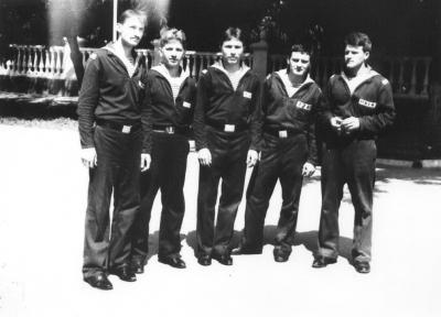 годки 2 и 3 роты 1985