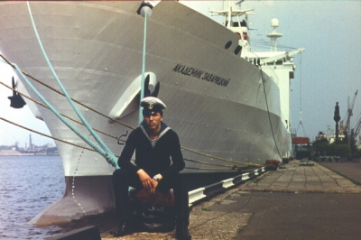Рига мореходка 1986