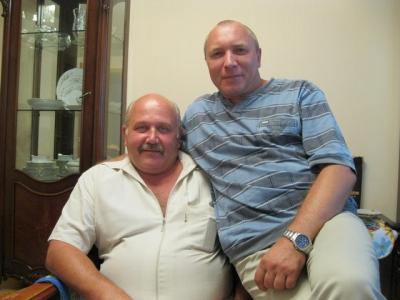 Я с Саней Мазуром 2012