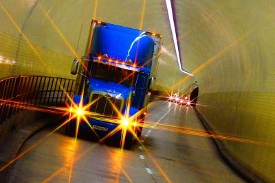 Тоннель на Бродвее.