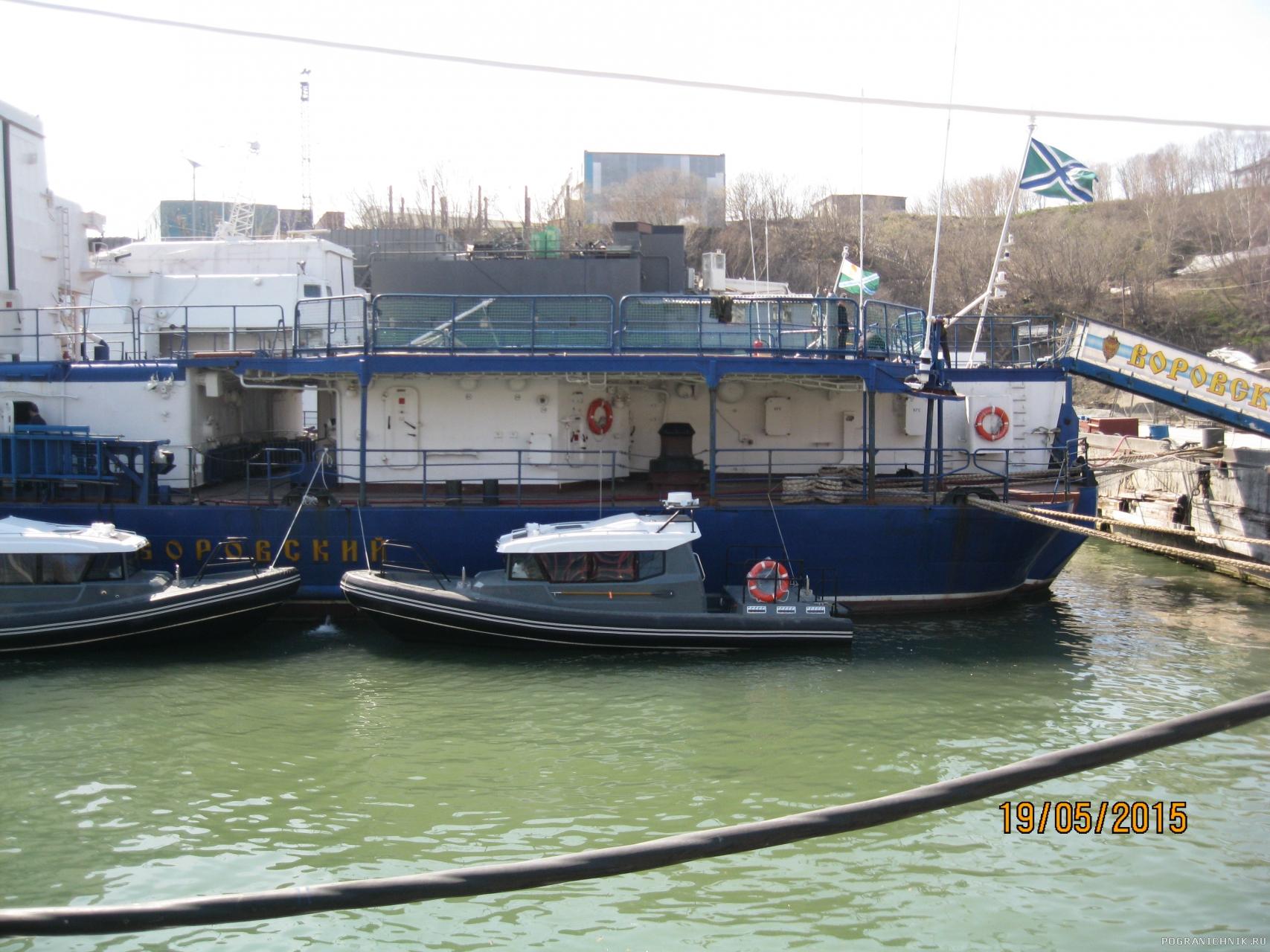 Воровский и новые катера вместо 338м