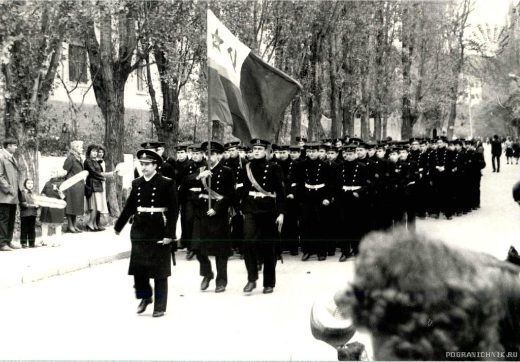 на параде в Балаклаве