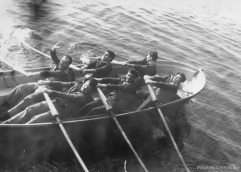 лето 83г, разминка на веслах
