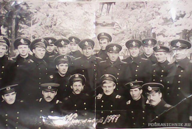 """""""Служба в г. Кронштадт,1977 г.Школа офицеров запаса"""""""