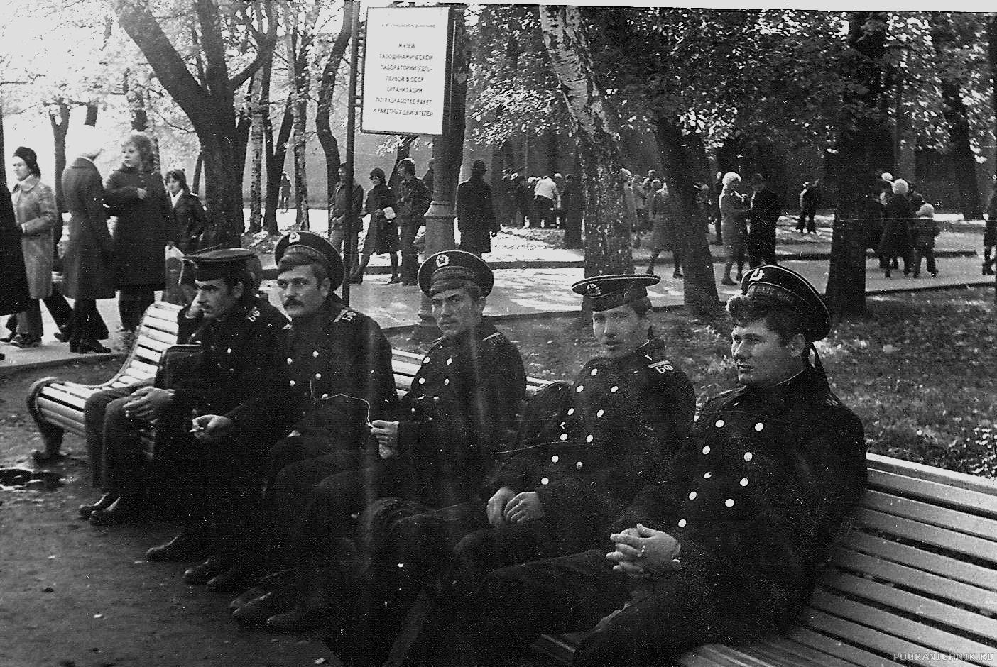 """""""Служба в г. Кронштадт,1977 г.Петровский парк"""""""
