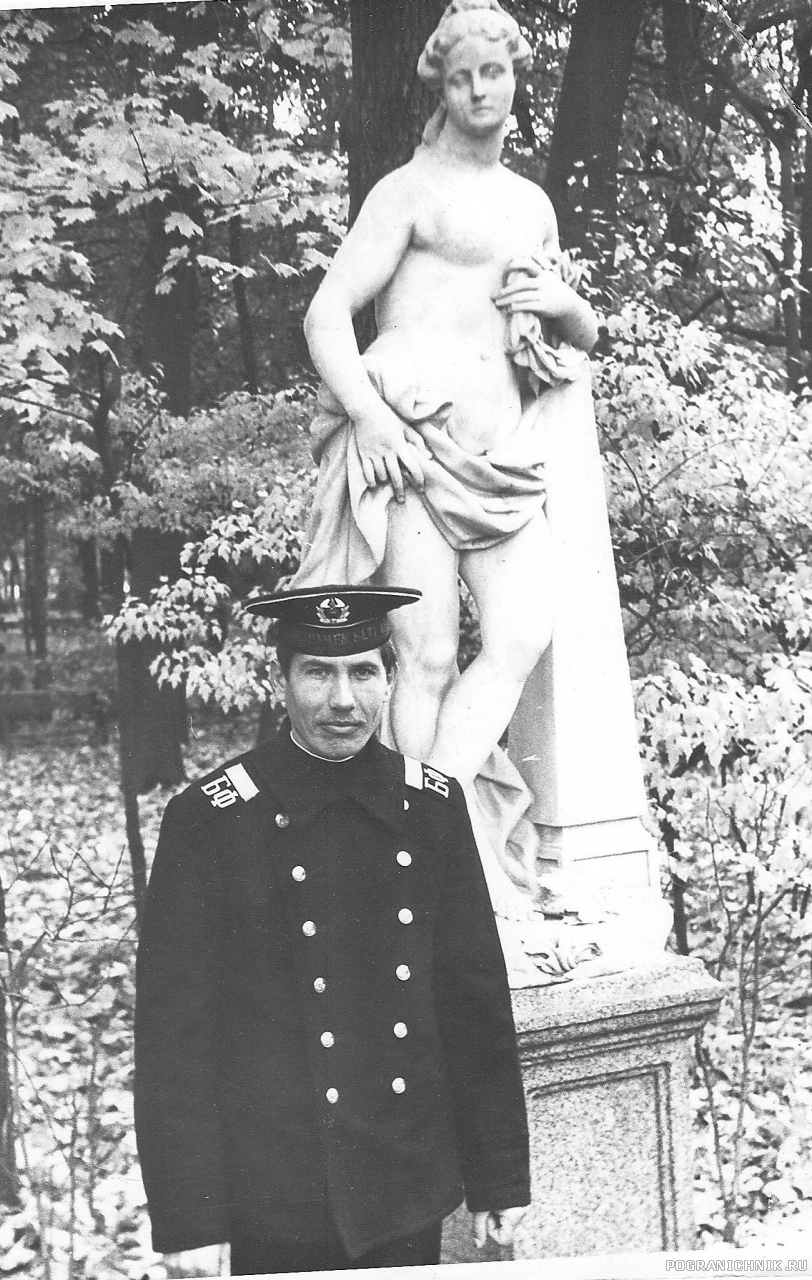 """Служба в г. Кронштадт,1977 г.,Летний Сад, г. Ленинград"""