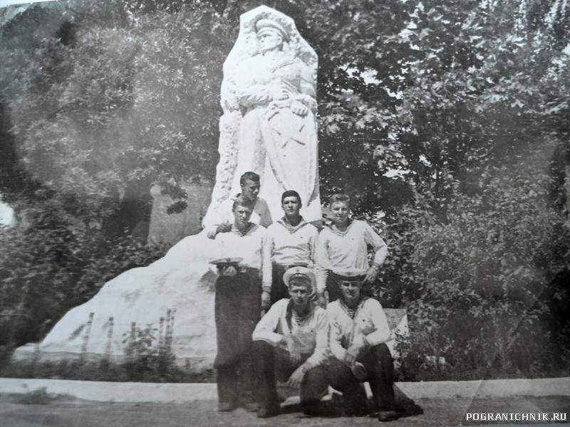 Монумент Морякам - пограничникам. Знаковое место для пограничников Балаклавы.