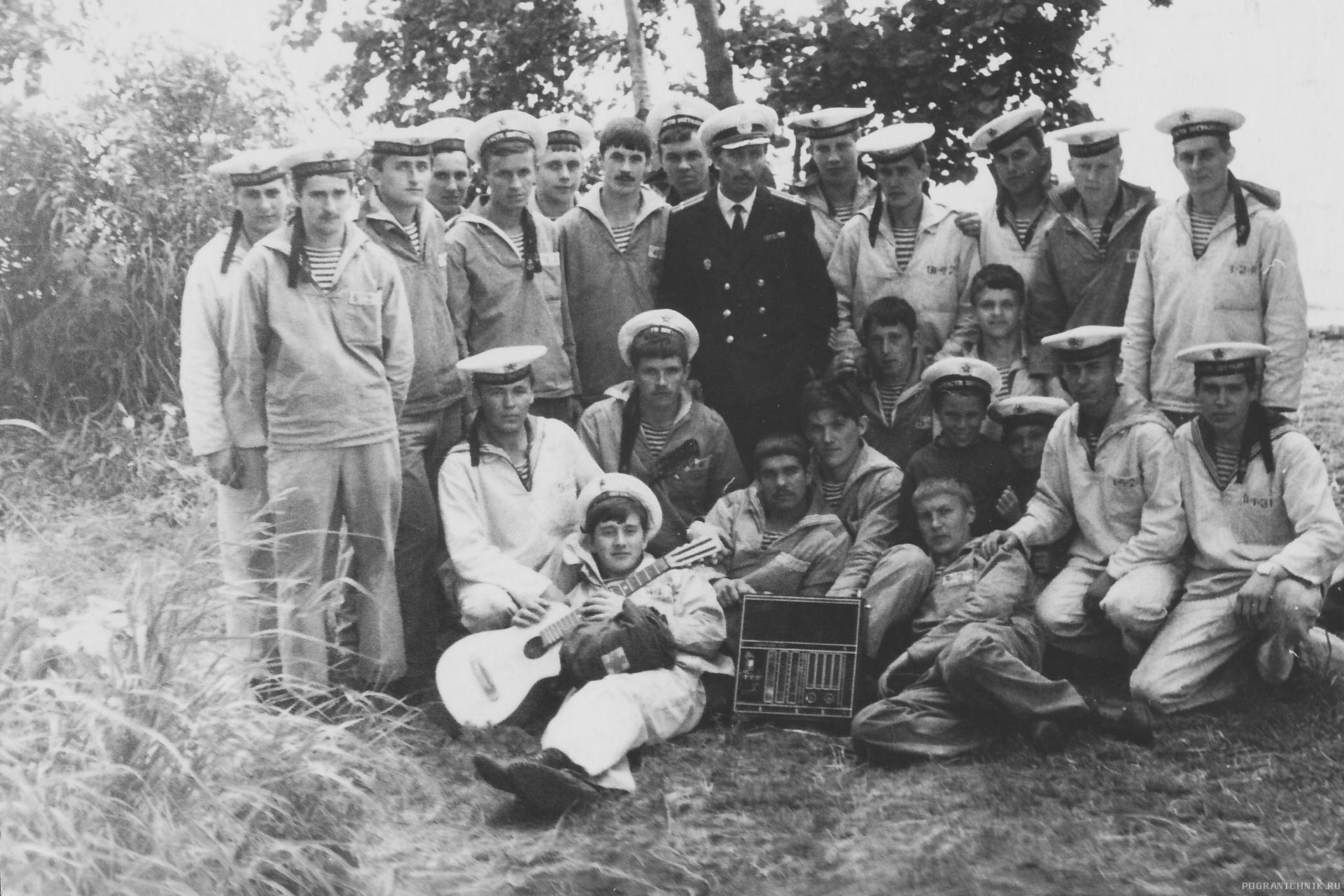 "1978 на Халактырском озере. ПСКР ""Амур"""