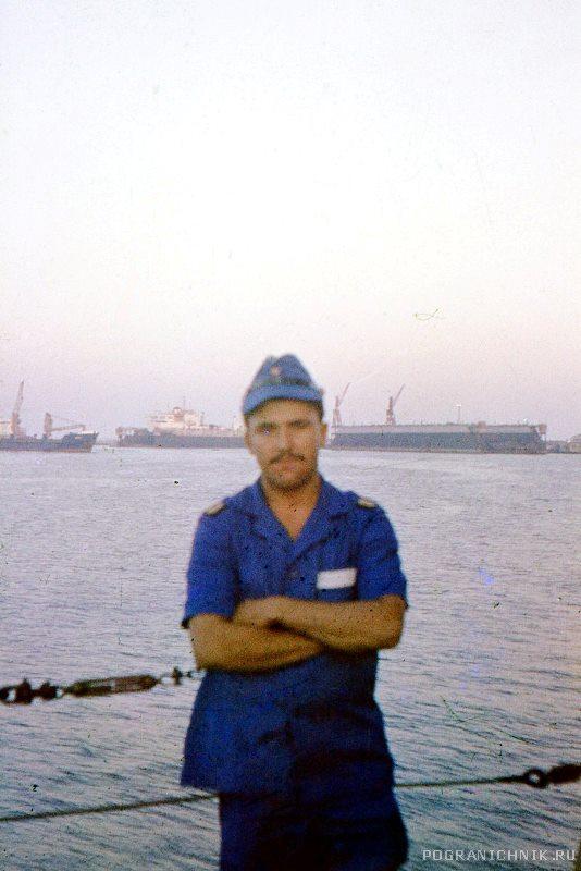 Порт-Саид. Перед входом в Суэцкий канал