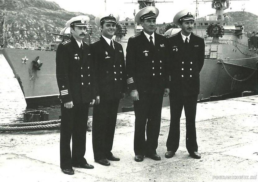 Командиры кораблей. Кувшинская Салма ,июль 1992г.