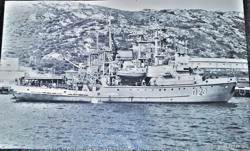 Корабли Кувшинской Салмы