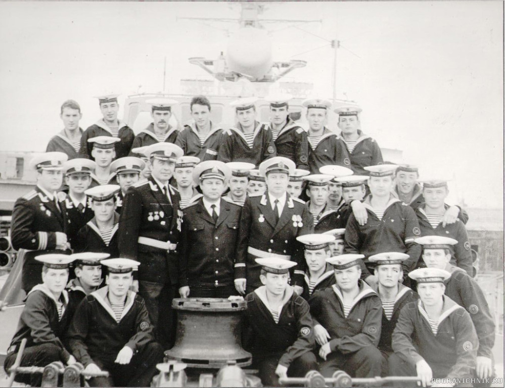 ПСКР 804, экипаж. 1983 год.