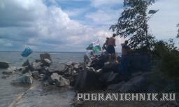 День ВМФ Новосибирск. Обское море.