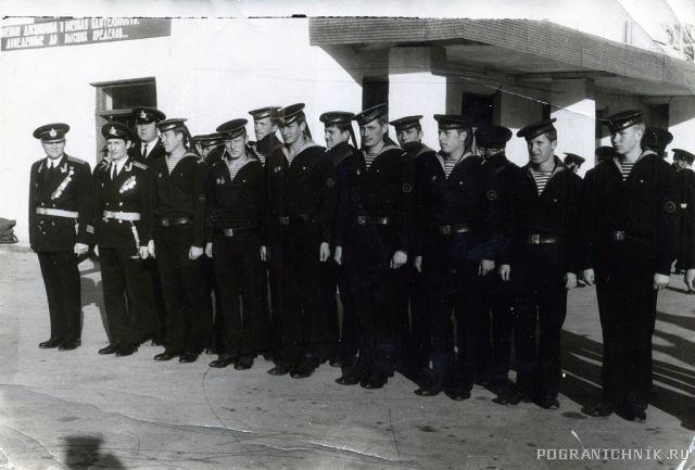 ПСКР 251 во главе с ком. Зайцевым