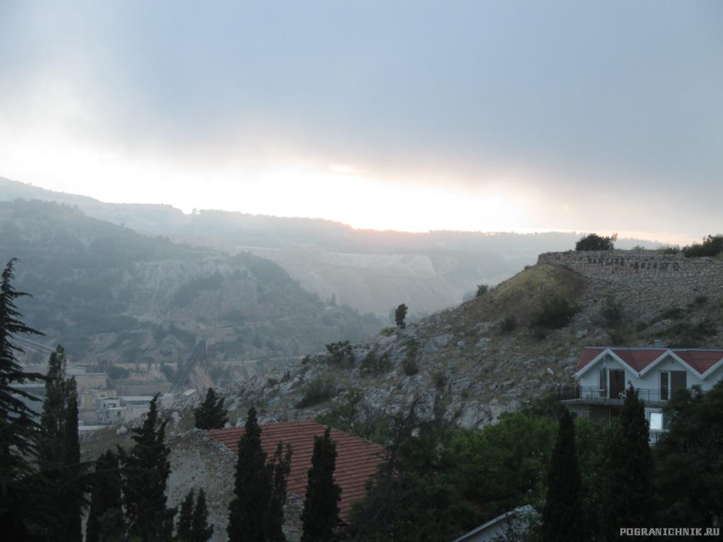 Туман над Балаклавой