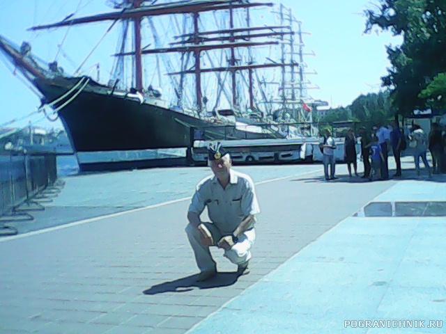 На набережной в Севатополе 29 мая