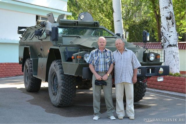После выхода  в море 28 мая 2014 г. Дмитрий Марусевич и Михаил Бойко.
