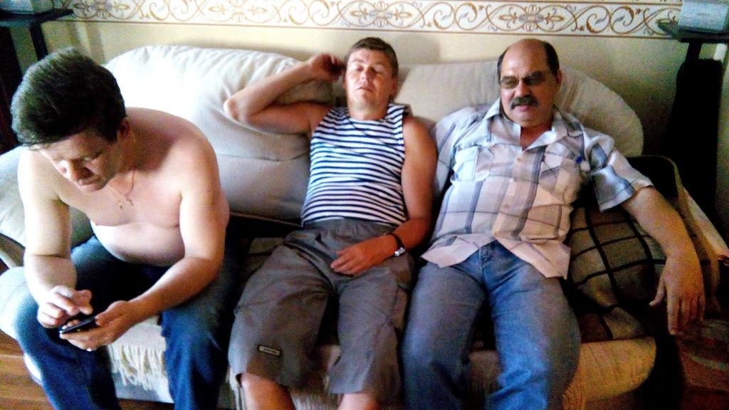 Отдыхаем после праздника