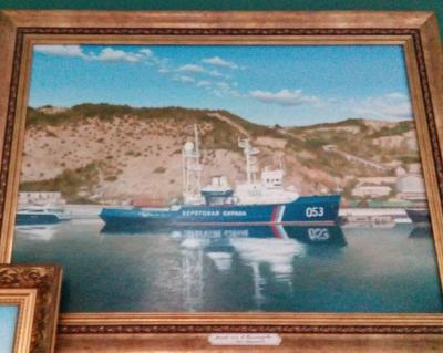 В музее истории Балаклавы