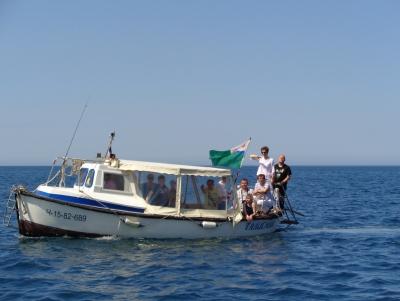 Выход в море 28.05.16.